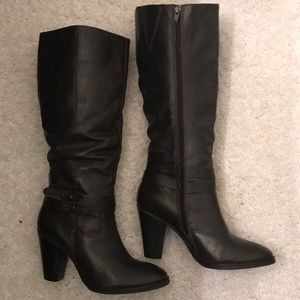 "Matisse Leather Heeled Boots ""Corbin"""